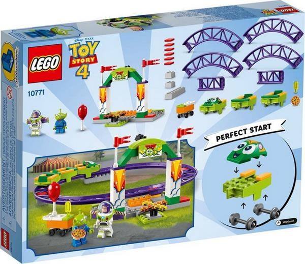 LEGO TOY STORY 10771 CARNIVAL THRILL COASTER  (4+)