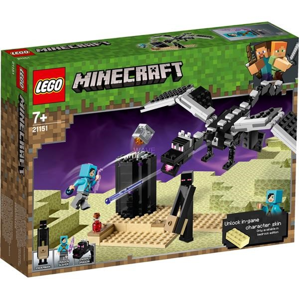 LEGO MINECRAFT 21151 THE LAST STAND, CONSTRUCTION TOYS