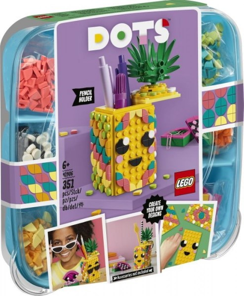 Lego Dots: Pineapple Pencil Holder 41906
