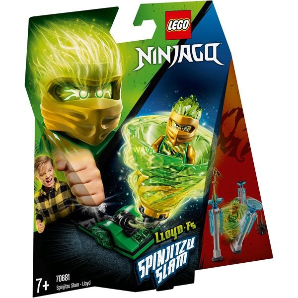 LEGO Ninjago Spinjitzu 70681 Slam - Lloyd, construction toys