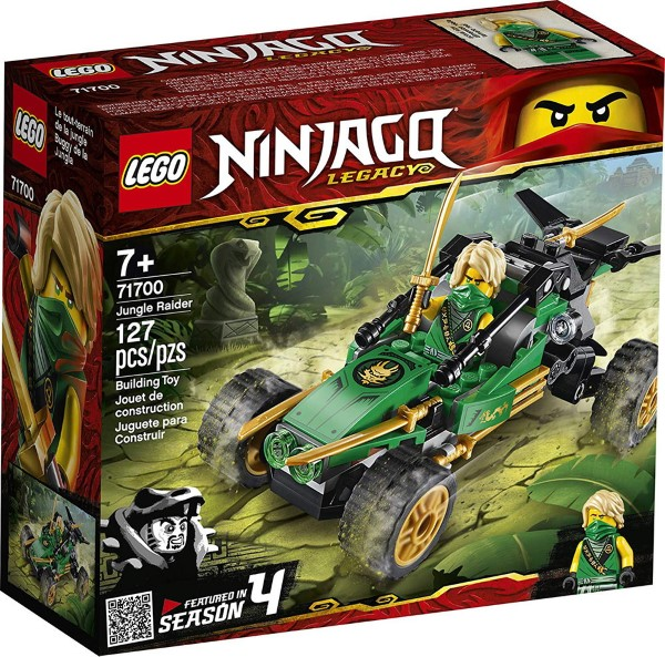 Lego Ninjago: Jungle Raider 71700