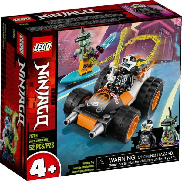 Lego Ninjago: Cole's Speeder Car 71706