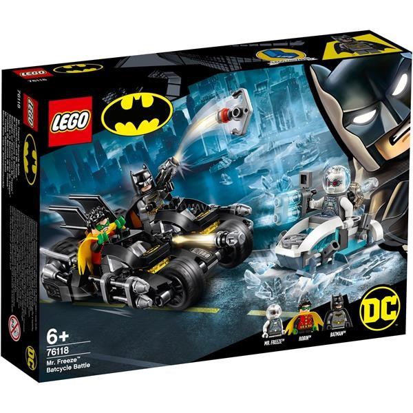 LEGO Super Heroes 76118 Batcycle duel with Mr. Freeze, construction toys