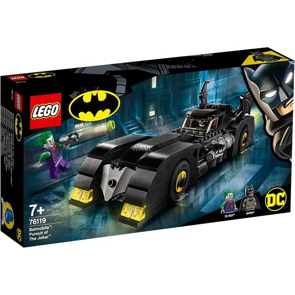 LEGO 76119 Super Heroes Batmobile: chase with the Joker, construction toys