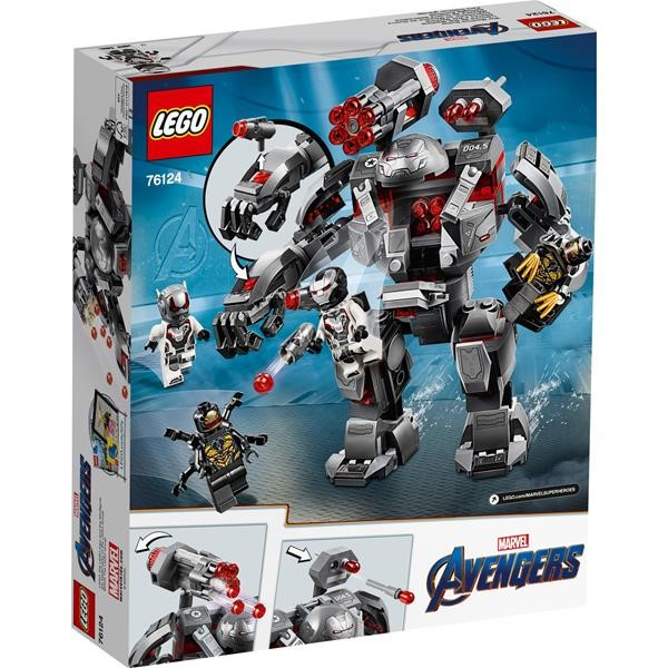 LEGO 76124 War Machine Buster, construction toys