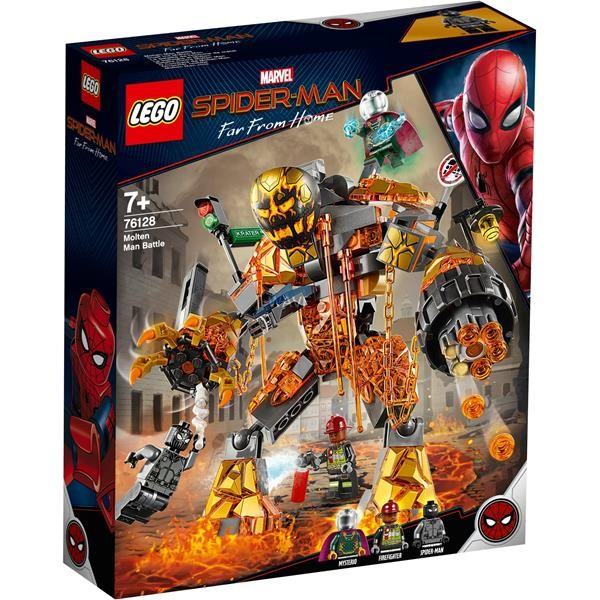 LEGO Super Heroes 76128 duel with Molten Man, construction toys