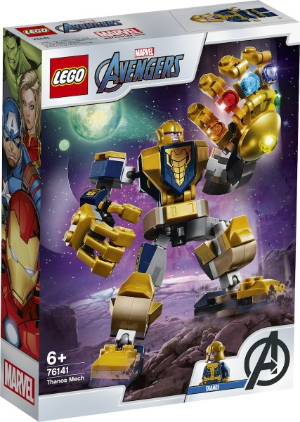 Lego Super Heroes: Thanos Mech 76141