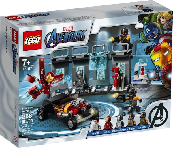 Lego Super Heroes: Iron Man Armory 76167
