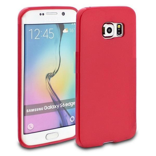 OEM ΘΗΚΗ TPU GLOSSY ΓΙΑ SAMSUNG GALAXY S7 G930 - DARK RED