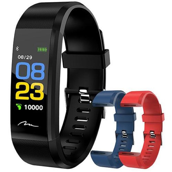MEDIA-TECH ACTIVE BAND OLED COLOR + 2 STRAPS