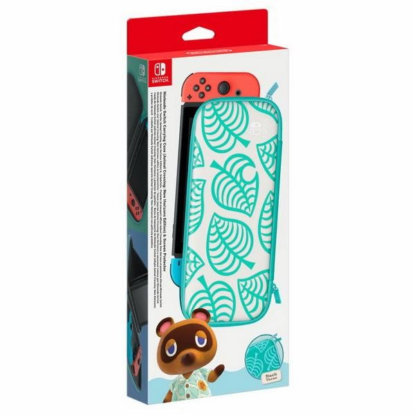 NINTENDO SWITCH-TASCHE (ANIMAL CROSSING) & SCREEN PROTECTOR