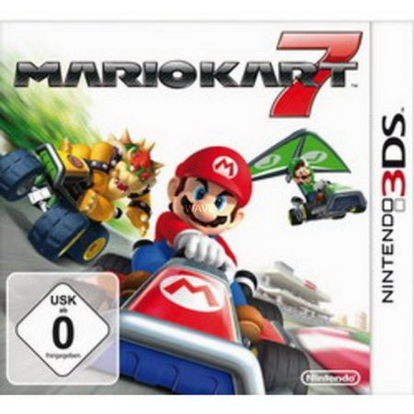 NINTENDO MARIO KART 7  3DS RACING GAME & AIR