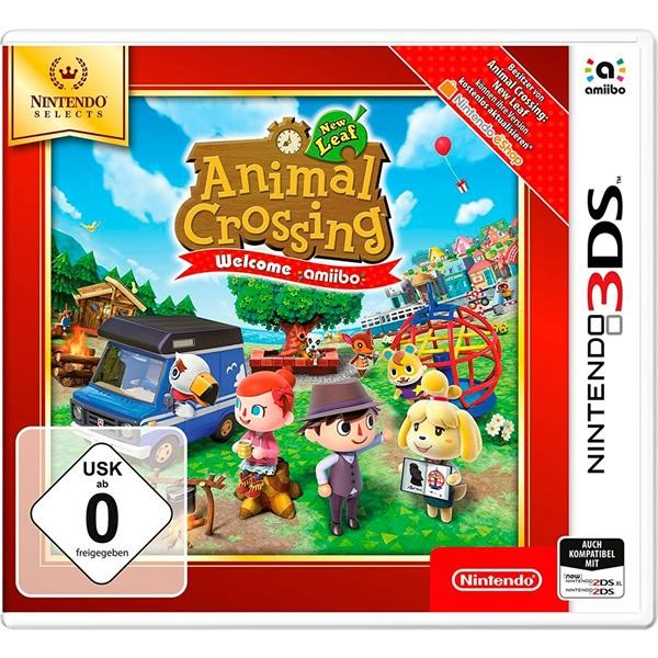 NINTENDO ANIMAL CROSSING: NEW LEAF, NINTENDO 3DS GAME