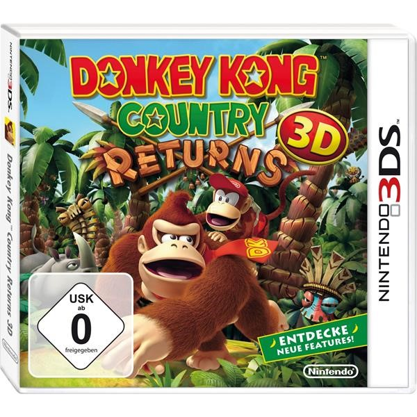 NINTENDO DONKEY KONG COUNTRY RETURNS, NINTENDO 3DS GAME