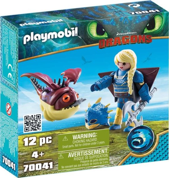 PLAYMOBIL Dragons Astrid with Hobgobbler 70041