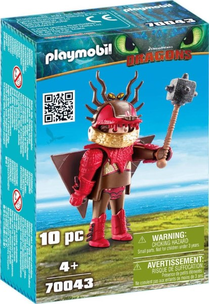 PLAYMOBIL Dragons Snotlout with Flight Suit 70043