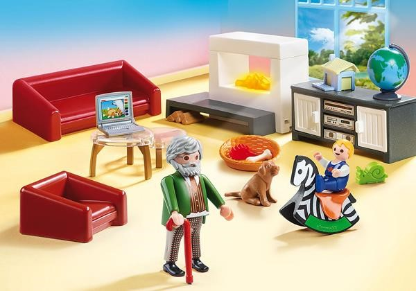 PLAYMOBIL 70207 Cozy living room, construction toys