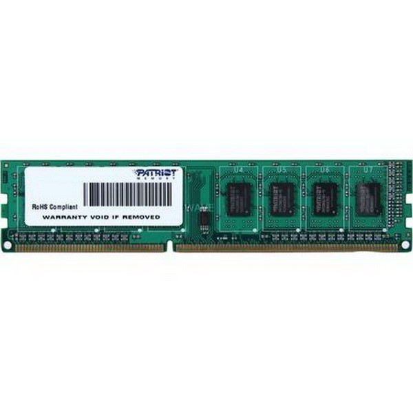 PATRIOT DIMM 4 GB DDR3-1333, MEMORY 4 GB CL9 1 PIECE PSD34G133381, SIGNATURE-LINE PSD34G133381