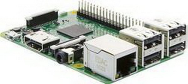 RASPBERRY PI RASPBERRY PI 3 MODEL B, MAIN BOARD PROPRIETARY INTEGRATED ONBOARD
