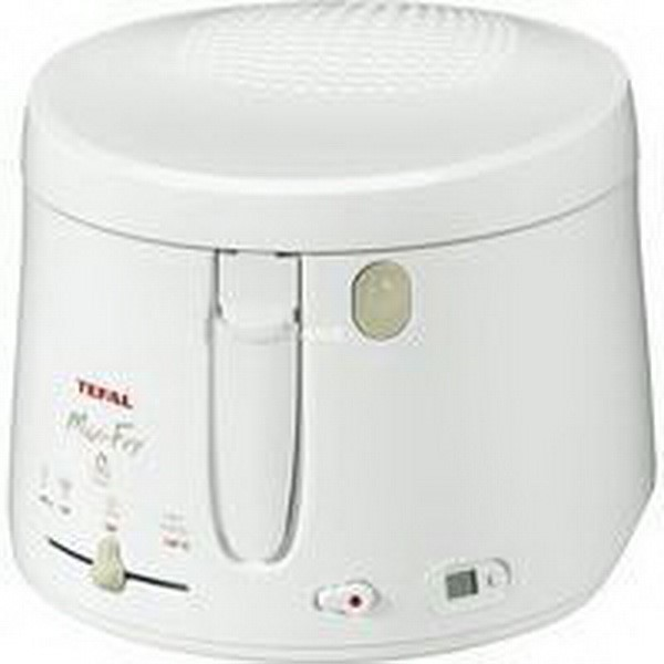 TEFAL FRYER MAXI-FRY WITH TIMER, FRYER WHITE, RETAIL