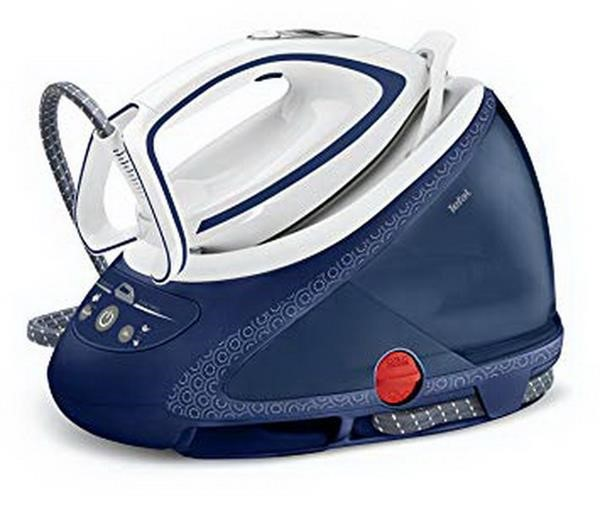 Tefal GV9580, steam iron pro express ultimate white blue