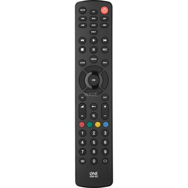 ONE FOR ALL CONTOUR 8, REMOTE BLACK